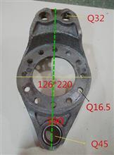 中国重器成都王牌欧虎 原装正品制动底板 刹车盘底板/后底板
