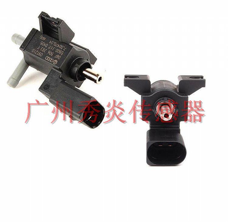 原厂进口奥迪汽车涡轮增压电磁阀oem#06h906283f,06h906283f图片