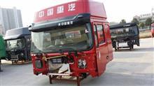 中国重汽豪卡红高顶车身/中国重汽豪卡