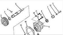 【3176556】重庆康明斯K38发动机配件附件驱动壳体/3176556