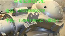 重汽豪沃HW1697后桥桥壳总成(NS07悬架,改进型)/AZ9761330581