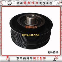 东风雷诺 DCI11 发动机_风扇皮带轮总成 D5010222001/D5010222001