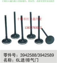 康明斯6L进气/排气门/3942588/3942589