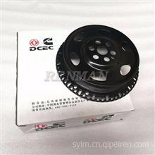 康明斯ISDe发动机曲轴信号轮3954949东风天锦柴油机皮带轮/3954949