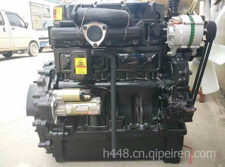 lr4108发动机总成配上海70拖拉机 lr4108lr4108发动机图片