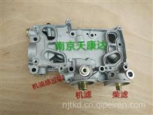 一汽解放道依茨大柴发动机配件 发动机机油冷却器壳体/1013040A65D