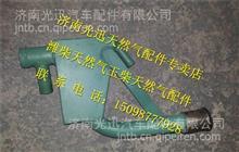重汽T10天然气CNG发动机油气分离器总成/VG1500019055