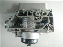 一汽解放道依茨大柴发动机配件 发动机机油散热器总成