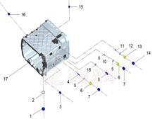 华菱星马重卡汉马12档变速箱常开式通气塞/1701P1E267A0