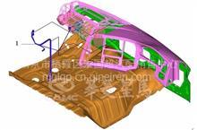 华菱重卡星马车身配件  ABS驾驶室线束/37FYDQ-50030