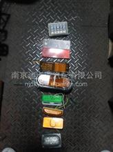 一汽解放挂车车厢边灯/集装箱反光板透明塑料红白/挂车通用/集装箱通用