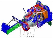 华菱重卡牵引车配件    康明斯发动机断水电磁阀