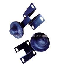 供应东风猛士军车配件EQ2050系列发动机罩缓冲球头带支架总成84C21-02039/84C21-02040