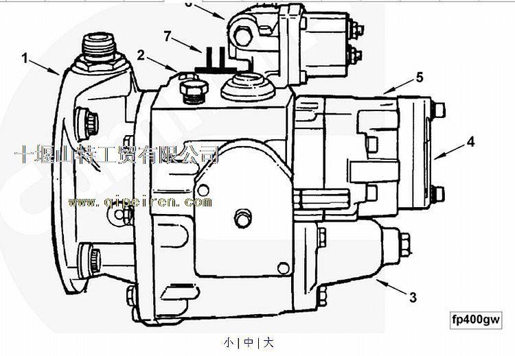 3075537康明斯pt泵康明斯燃油泵30755373075537
