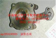重汽变速箱油泵总成WG2203240005/WG2203240005