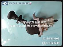 原厂792c 东风科技 东客克诺尔天锦二孔手控阀/3517010-KD100