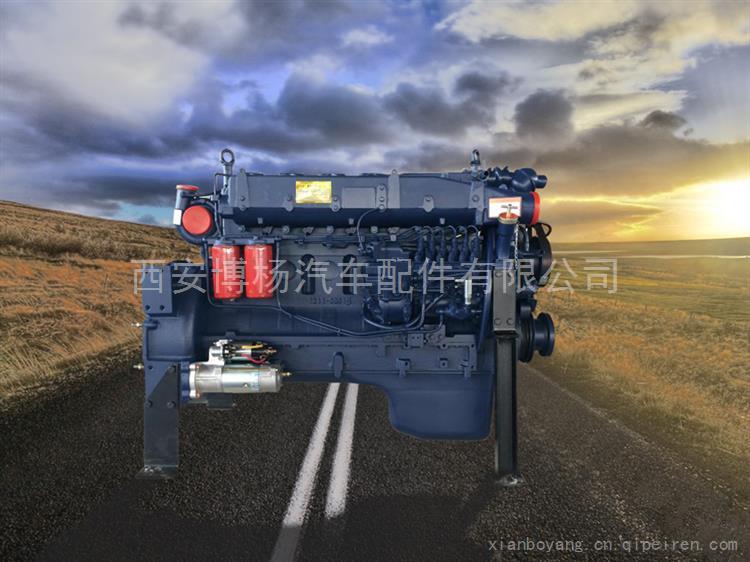 潍柴德龙 欧曼 一汽 340马力发动机总成/WP10.340