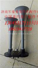 重汽金王子豪沃豪卡电控双音气喇叭WG9000270001/1/WG9000270001/1