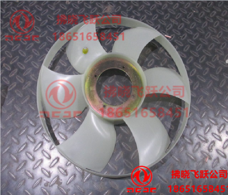 东风御风锐铃、凯普特轻型发动机散热器,水箱430风扇叶/1308010-E410A