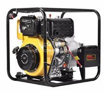 便携式防汛4寸柴油机水泵