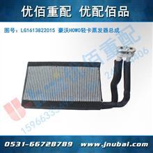 重汽 原厂 HOWO 轻卡驾驶室事故车 空调管配件 蒸发器总成/LG1613822015