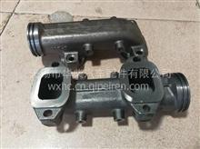 锡柴36D发动机排气歧管边节/1008041-0263