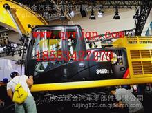 扬州盛达宽体矿用车消声器进气管二/SZ9K869540006