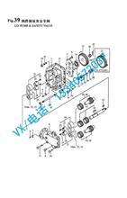 北京洋马发动机8N330机油泵传动齿轮132654-32200