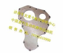 612600011821潍柴WP10发动机齿轮室前端盖/612600011821