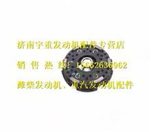 重汽豪沃430拉式大孔原厂配套离合器压盘总成/AZ9725160100