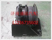 陕汽德龙发动机左后悬置减振垫/DZ95259590067