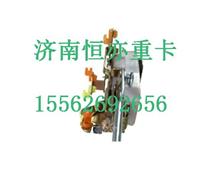 AZ1651340102重汽豪瀚右前门插销与连杆总成/AZ1651340102