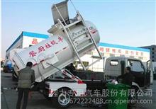 湖北程力东风小多利卡5立方餐厨垃圾车厂家报价/CLW5070TCAE