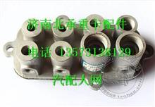 M51-3508310柳汽霸龙507驾驶室制动管路组合接头座/M51-3508310
