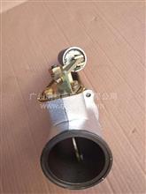 原装东风天锦增压器出口连接管带排气制动阀总成/1203015-KM800/1203015-KM800