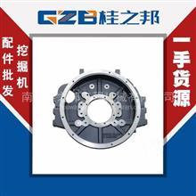三一SY265挖机发动机飞轮壳供应/60214302