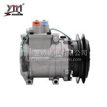 YTM昱特电机 HS111压缩机 小松KOMATSU 200-6  24V/单B 压板/HS111