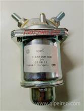 东风天龙旗舰ISZ发动机燃油预热继电器总成 0333006006/ 0333006006