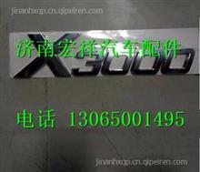 陕汽德龙X3000字标标牌DZ14251950001   DZ14251950002