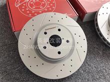 伊富兰特ECFRONT高碳打孔划线刹车盘合宝马X6原厂升级/1