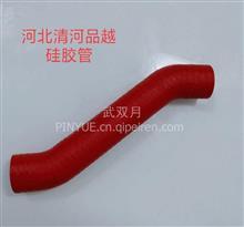 江铃中冷器发动机水箱连接硅胶水布纹管/111900202