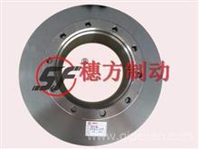 客车刹车盘制动盘 后10孔22寸适用东风德纳/YF35DF33-02075/3501-3359