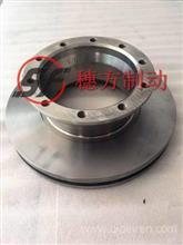 客车刹车盘制动盘10孔适用德龙3000/YF35AD05E-01075/3501-4147
