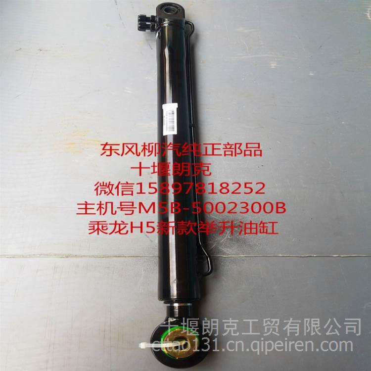 东风柳汽霸龙507货车配件乘龙h5驾驶室液压油顶举升器翻转油缸 m5b图片