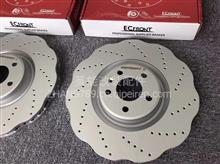 伊富兰特高碳打孔划线刹车盘合奥迪Q3原厂刹车升级/2