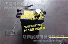 WG9925823021  重汽豪沃T7H TGA右置电动油泵/WG9925823021