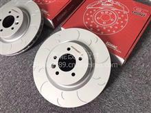 ECFRONT高性能打孔划线刹车盘适配宝马525原厂升级