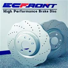梅花打孔刹车盘ECFRONT适配奥迪A7刹车原厂升级/1