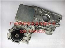 5474752F福田欧马可奥铃ISF2.8发动机机油冷却器模块总成【带孔】 /5302887/5274914/5269789