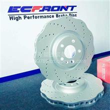 伊富兰特ECFRONT梅花高碳刹车盘适配奥迪A8原厂刹车改装/2